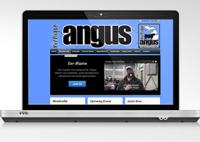 Michigan Angus Association Website