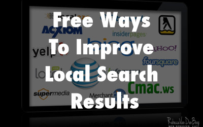Free Ways To Improve Local Search Results
