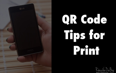 QR Code Tips for Print