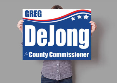 Greg DeJong for Ottawa County Commissioner