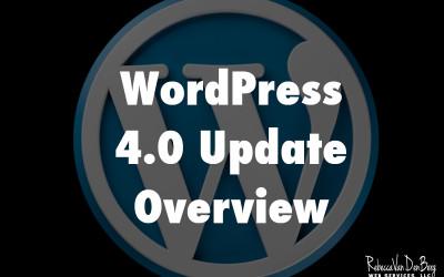WordPress 4.0 Update Overview