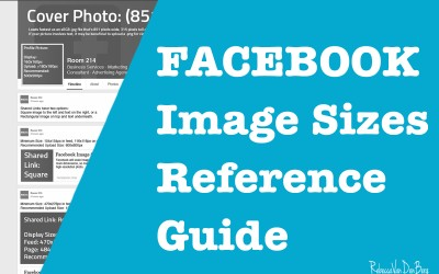 Facebook Image Sizes Reference Guide