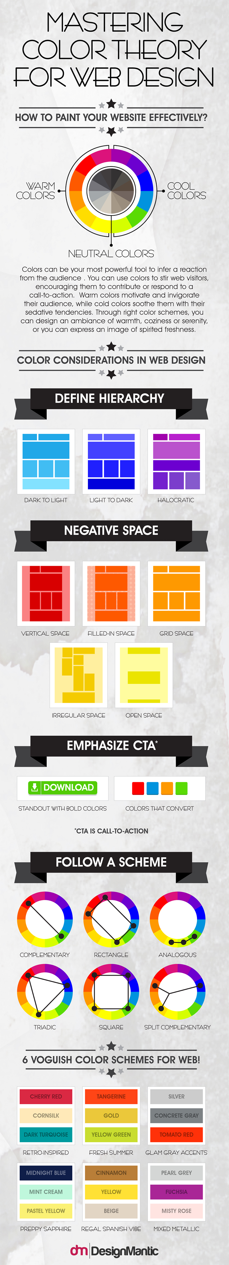 Color Commandments of Web Design