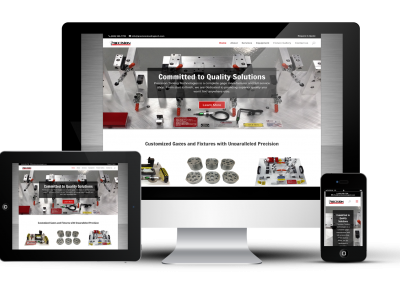 Precision Tooling Technologies Website Design
