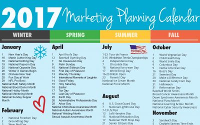 Ultimate 2017 Marketing Planning Calendar