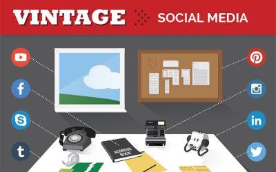 Vintage Social Media