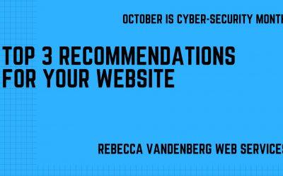 Top 3 Website Security Tips
