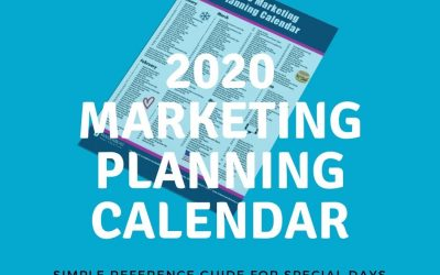2020 Marketing Planning Calendar