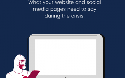 What your website and social media pages need to say during the Covid-19 crisis