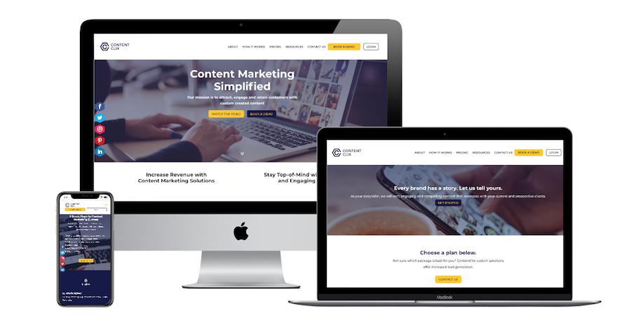 Content-Clix Website
