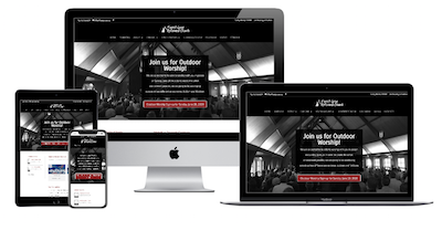 Church Website Design by VanDenBerg Web and Creative