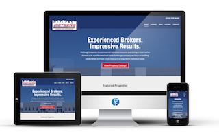 commerical real estate website design