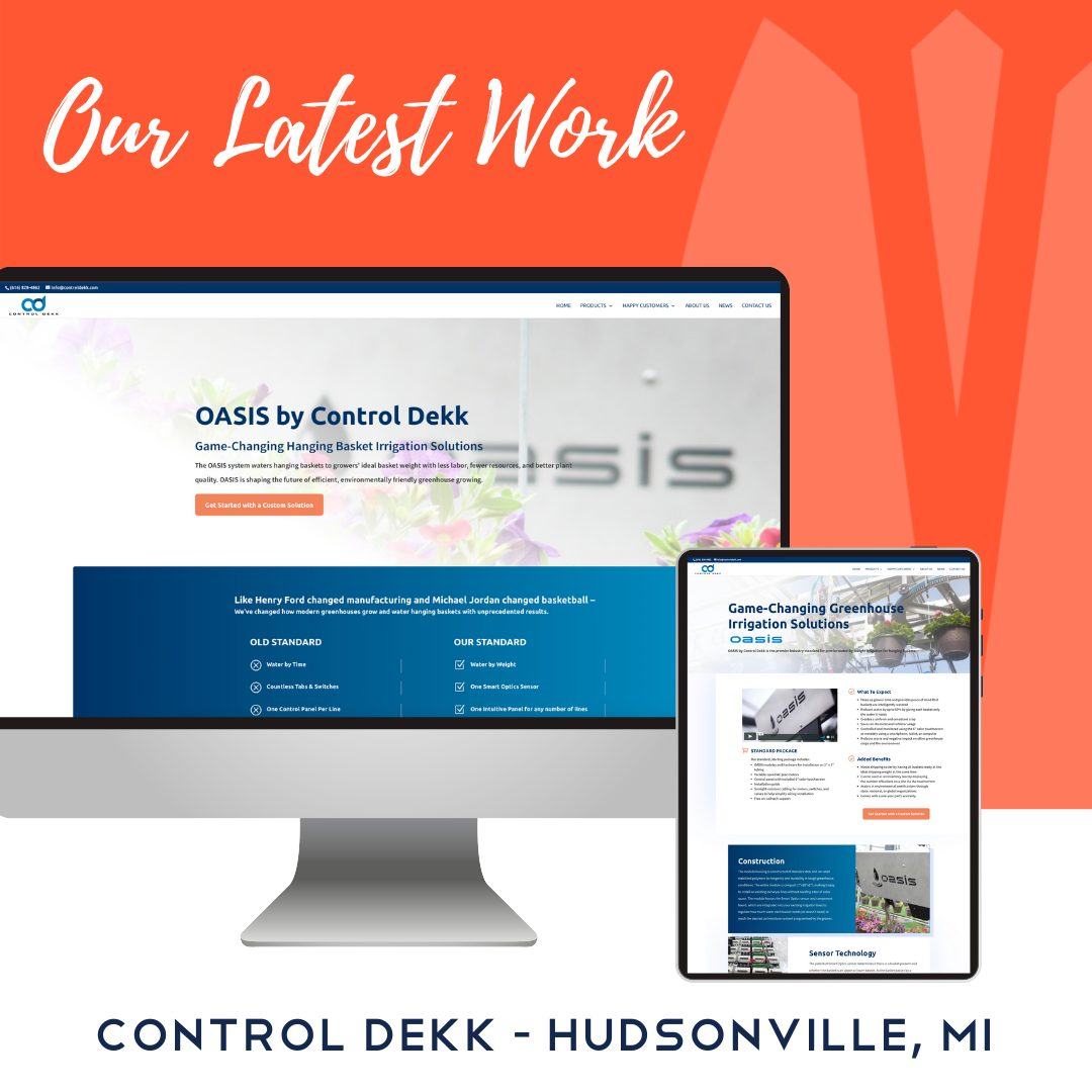 Control Dekk WordPress Website Design