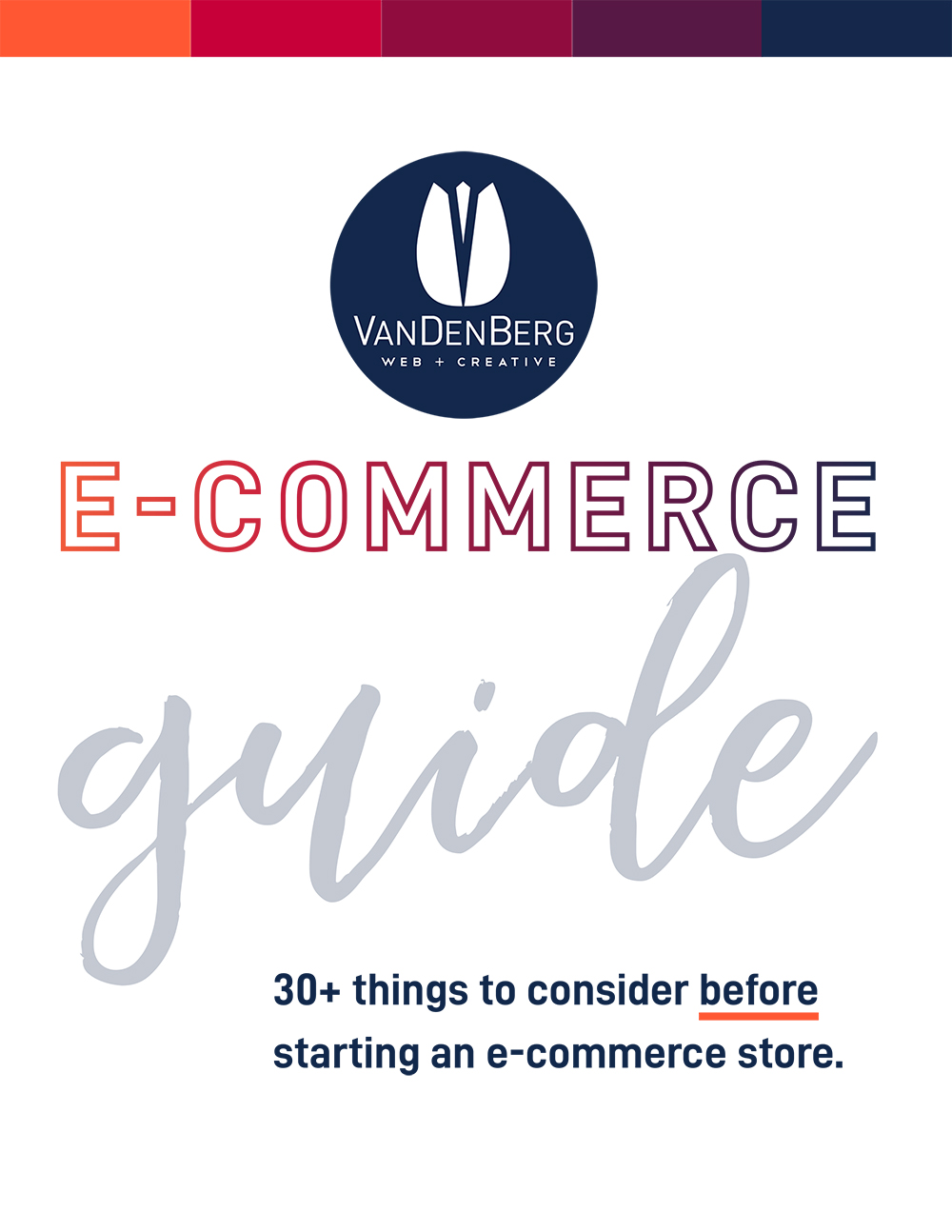 ECOMMERCE GUIDE 30 THINGS TO CONSIDER BEFORE-1