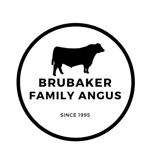 Brubaker Family Angus Logo