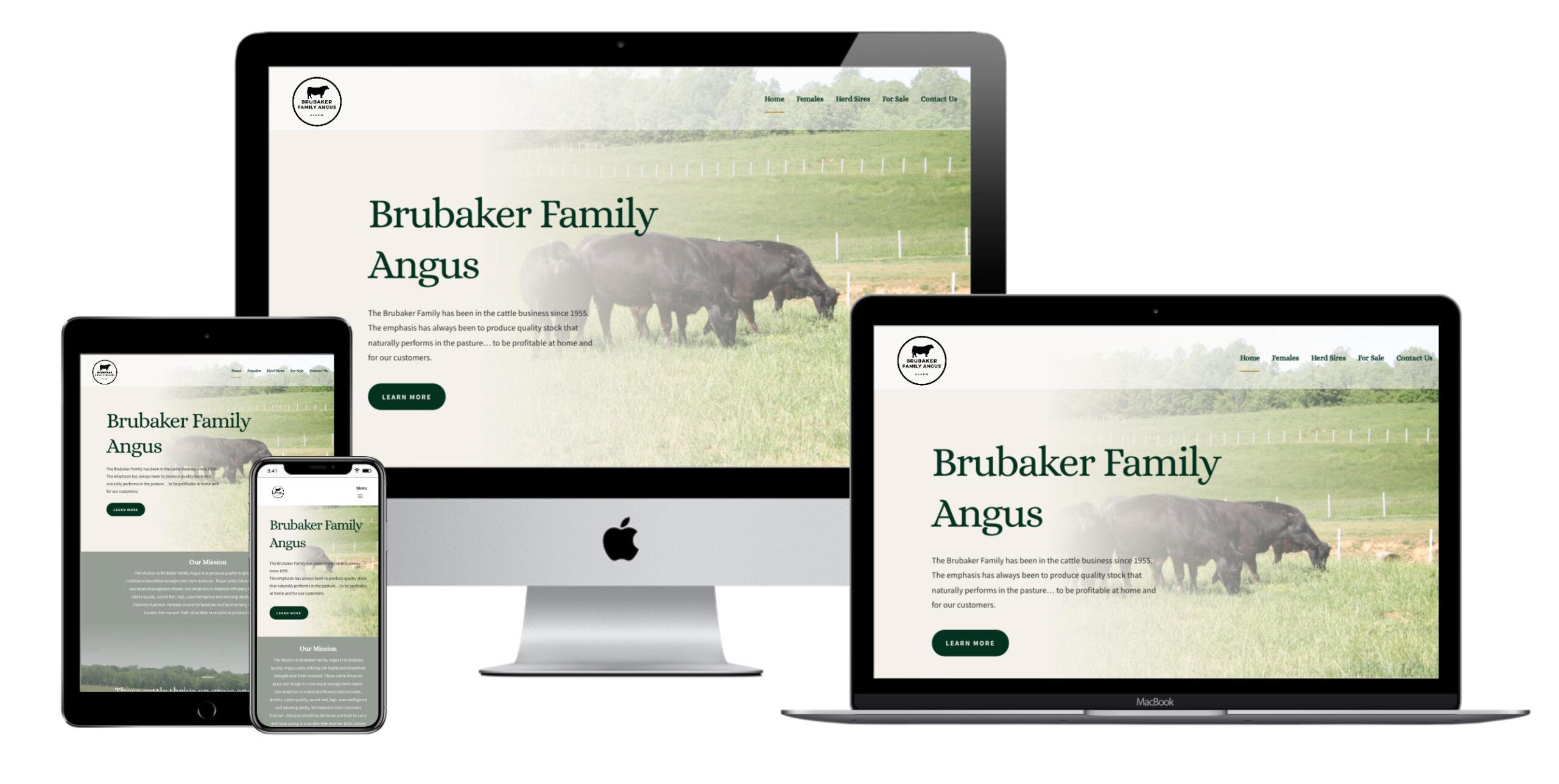 Brubaker Family Angus